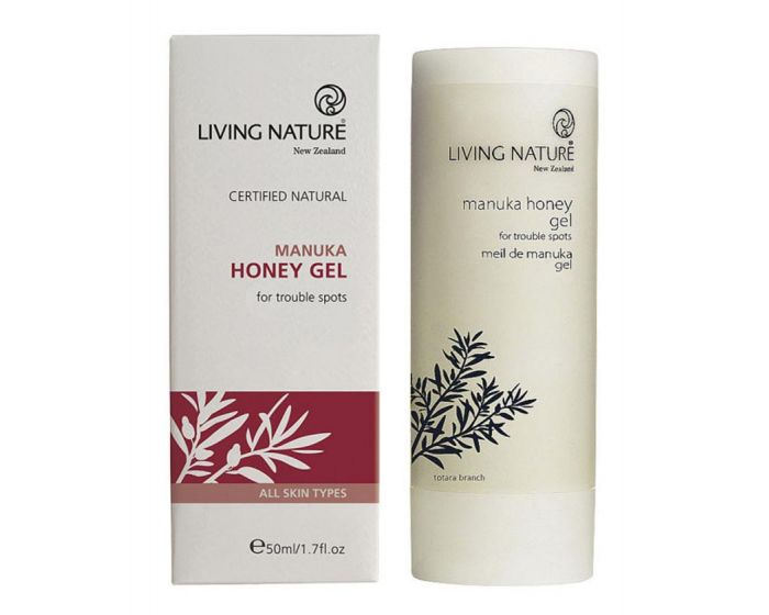Гель с маслом и нектаром мануки Manuka Honey Gel Living Nature, 50 мл-1