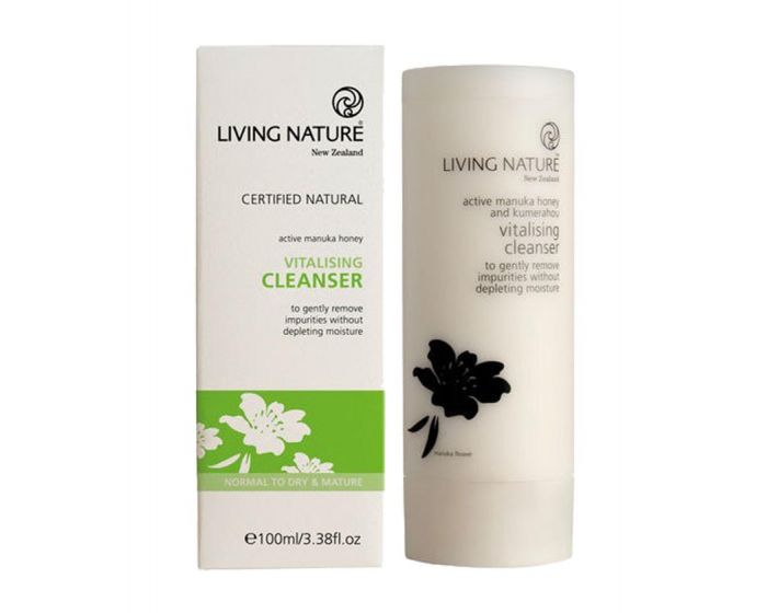 Гель с маслом и нектаром мануки Manuka Honey Gel Living Nature, 50 мл-2